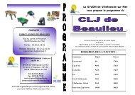 Programme du Centre de loisirs de Beaulieu-sur-Mer - La Turbie