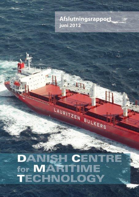 DCMT afslutningsrapport - Den Danske Maritime Fond