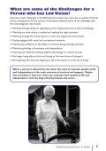 Family, Friend and Carer - A Guide - Macular Degeneration ... - Page 7