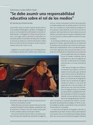 Entrevista a Julian Sefton-Green - Cedoc