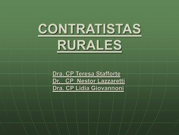 CONTRATISTAS RURALES