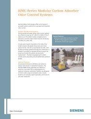 RJMC Series Modular Carbon Adsorber Odor Control ... - Siemens