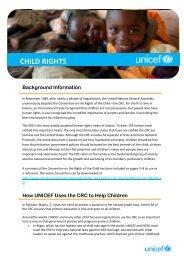 CHILD RIGHTS - UNICEF Ireland