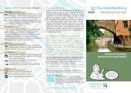Flusspfad Bamberg Bamberg river trail - Flussparadies Franken