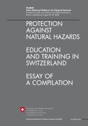 Protection AgAinst nAturAl HAzArds educAtion And ... - nirapad