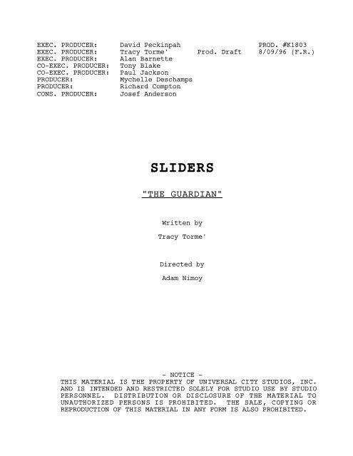 Production Draft - Zen134237.zen.co.uk