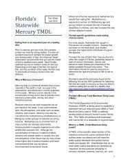 Florida's Statewide Mercury TMDL Fact Sheet