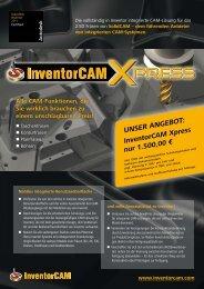 Alle CAM-Funktionen, die Sie wirklich brauchen zu ... - InventorCAM