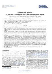 PDF (1.921 MB) - Astronomy & Astrophysics
