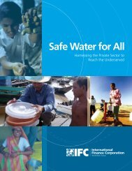 Safe Water for All - Center for International Studies