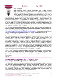 Bulletin – June 2007 - The Association of National Specialist Colleges