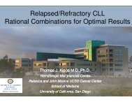 Relapsed/Refractory CLL - Educational Concepts Group