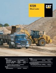 Specalog for 972H Wheel Loader, AEHQ5658-01