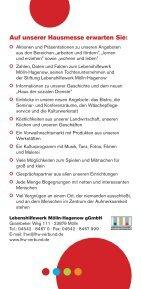LHW_Flyer_Hausmesse_071111.indd - Lebenshilfewerk Mölln ... - Page 2