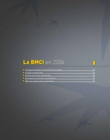 La BMCI en 2006 - BNP Paribas