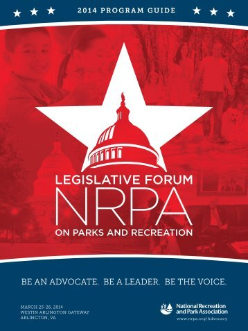 NATIONAL LEGISLATIVE FORUM - MRPA