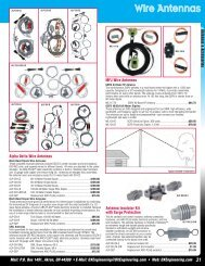 DXE Fall Catalog 10 - DX Engineering