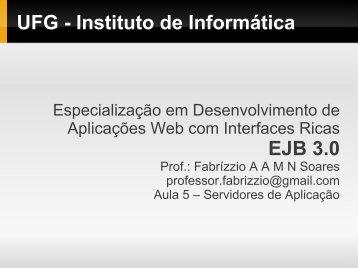 Servidor de Aplicação - Instituto de Informática - UFG
