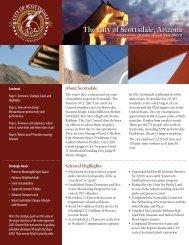 The City of Scottsdale, Arizona - AGA