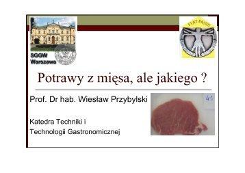 slajdy - Wszechnica Żywieniowa w SGGW