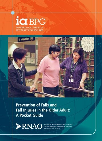 RNAO Falls Pocket Card - Long-Term Care Best Practices Toolkit