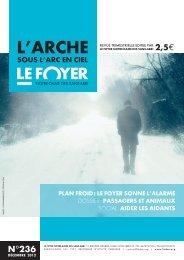 Decembre 2012 n°236 - Foyer Notre-Dame des Sans-Abri