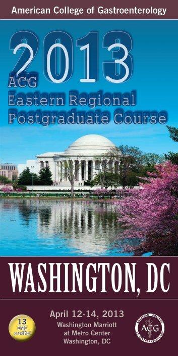 ACG Eastern Regional Postgraduate Course