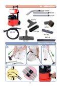 NBV-220 Battery Powered Vacuum Owners Manual - Parish ... - Page 2