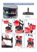 NBV-220 Battery Powered Vacuum Owners Manual - Parish ... - Page 4