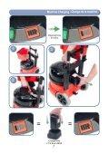 NBV-220 Battery Powered Vacuum Owners Manual - Parish ... - Page 7
