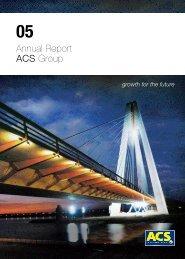 ACS Group Annual Report - Grupo ACS