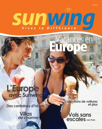 Vacances en Europe - Voyages à rabais