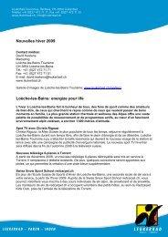 Hiver info 2009 - Leukerbad