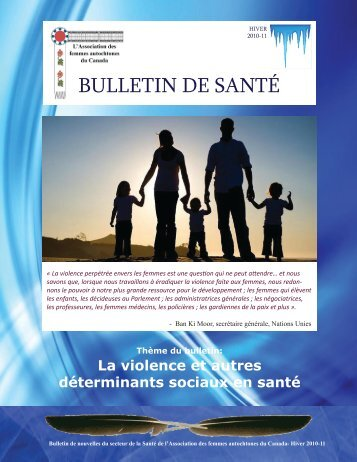 BuLLeTIn De SanTé - Native Women's Association of Canada