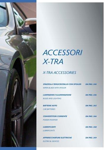 ACCESSORI X-TRA