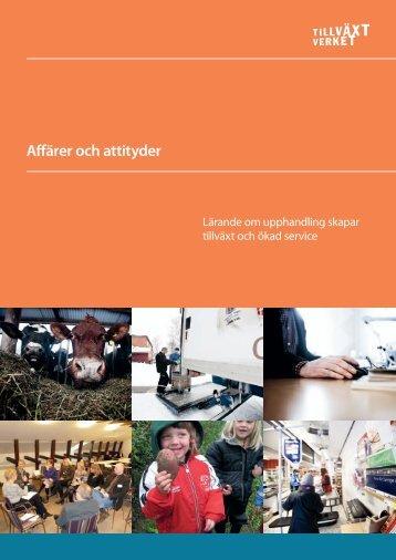 Affärer och attityder webb.pdf - Tillväxtverket