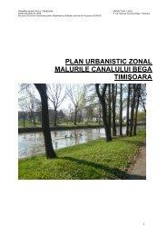 PUZ Malurile Canalului Bega - GTZ