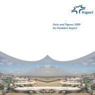 Facts and Figures 2009 for Frankfurt Airport - Airport Mediation - Home