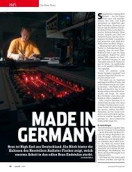 Brax ist High-End aus Deutschland. Ein Blick hinter die Kulissen des ...