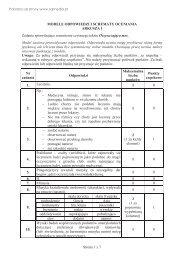 Strona 1 z 7 MODELE ODPOWIEDZI I SCHEMATY ... - Sqlmedia.pl