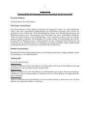 1 Anhang B 18 Fachspezifische Bestimmungen für das Masterfach ...