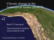 Atmospheric Sciences at DGF – U. Chile (Santiago) - Departamento ...
