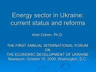 Energy sector in Ukraine - US-Ukraine Business Council