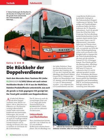Setra S 415 H - Busmagazin