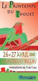 26et 27avril2008 - Montreuil-Bellay
