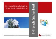 sicher, komfortabel, flexibel (Sarah Nießen) - IT-Trends Sicherheit