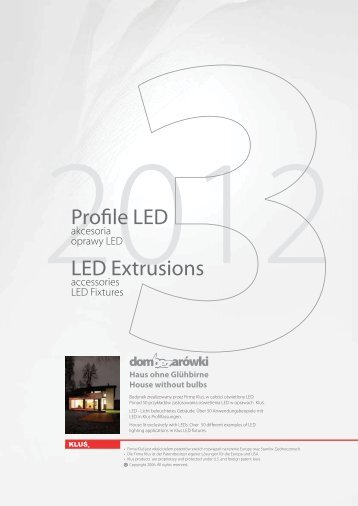 Profile LED LED Extrusions - LED Lighting