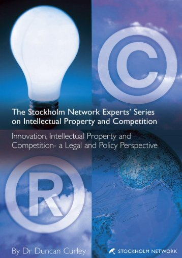 a legal and policy perspective - The Stockholm Network