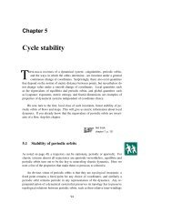 Cycle stability - Chaos: Classical and Quantum
