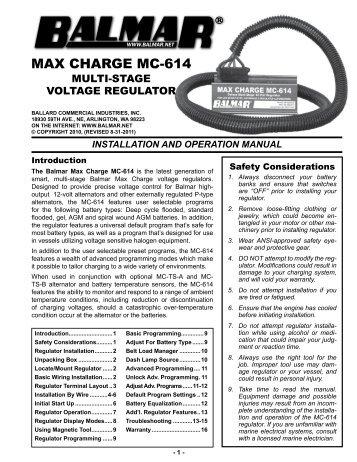max charge mc 614 manual balmar?quality=85 digital duo charge installation operation balmar  at bakdesigns.co